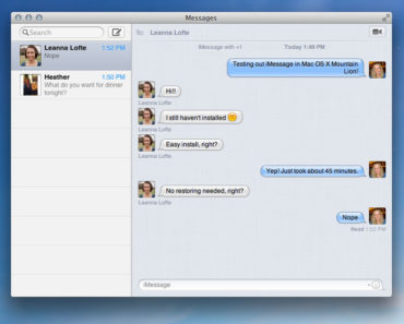 iMessage online login
