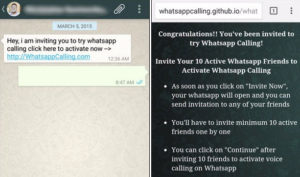 Whatsapp scams online