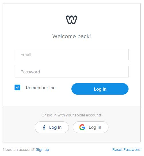 Weebly Login